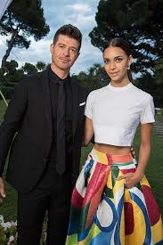 robin thicke and paula patton young love.  Paula Robin Thicke Started Dating April Love Geary A Month After He Split From Paula  Patton  Intended And Patton Young