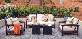 Impressive Outdoor Cushions Furniture The Home Depot Intended For