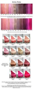 Pink Hair Colour Chart 228 Best Pastel Goth Hair Images In 2019 Dyed Hair Hair