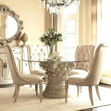 formal round dining room sets this picture here used formal dining room table for