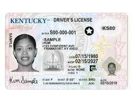 Driver's For Real To Apply Kentucky Id New License When