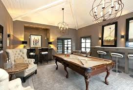 rug under pool table game room size