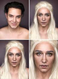 man bees woman game of thrones characters make man turns into anese woman with makeup makeup