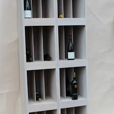 restaurant and bar wine rack display shelving