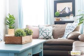 Pink Accessories For Living Room Pink Navy Blue And Jade Family Room Decor Reveal Jos House