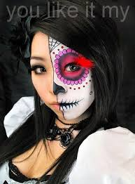 you like it my mexican sugar skull makeup for s on