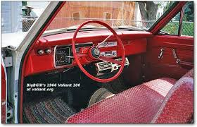 year by year history and photos of the chrysler plymouth valiant 1966 100 interior
