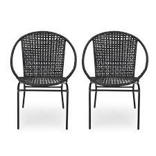 desdemona outdoor modern patio chair in