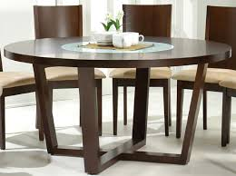 attractive dining room table and chairs set 60 inch round modern designer wood 9 piece