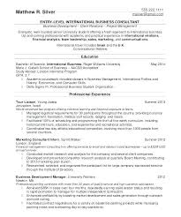 How To Write A Profile Resume Stunning Resume Sample For College Student New Examples College Resume Resume