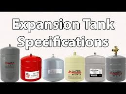 Extrol Expansion Tank Sizing Chart How To Size And Select A Proper Expansion Tank Youtube