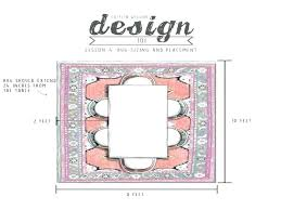 rug size for dining table standard room how to choose the right homes living what with posts for rug size