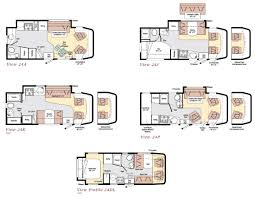 >winnebago view class c motorhome floorplans