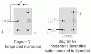 illuminated rocker switch wiring diagram wiring diagram illuminated toggle switch wiring help toyota taa forum