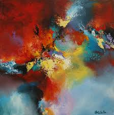 color storm by california artist nancy eckels abstract contemporary modern art painting