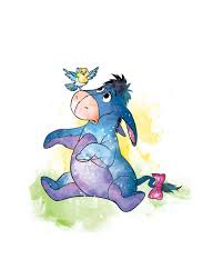 Eeyore, the old grey donkey, stood by the side of the stream and. Eeyore Images Bilscreen