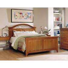 Furniture pany Translation Cherry Panel Bed King Size
