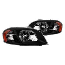 Spyder® - Chevy Aveo 2009-2011 Driver and Passenger Side Black ...