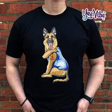 German Shepherd Dog Tattoo I Love Mom ...