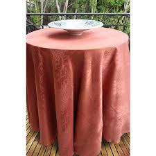 kenya swatch card 126 inch round tablecloth kenya damask