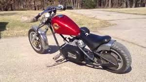 custom predator 212 mini chopper youtube