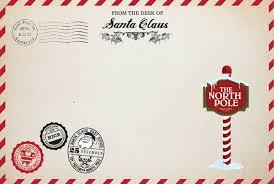 Perfect Santa Envelope Template Image Resume Ideas Namanasa Com