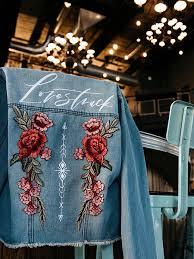 cool diy denim jacket kits for the bride