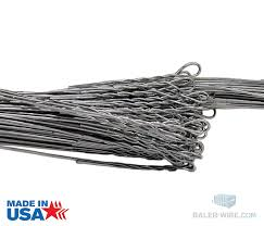 Baling Wire Gauge Chart 14 Gauge X 14 Length Baler Wire Bale Wire 125 Count