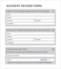 Incident Reporting Template 100 Employee Incident Report Templates Free PDF Word Documents 32