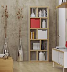 Temahome Berlin Bookcase Contemporary Furniture Modern Living Living Room Shelving Units