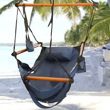 com best choice s hammock hanging chair air deluxe outdoor chair solid wood 250lb blue garden outdoor