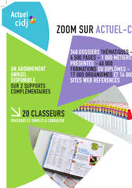 ACTUEL CIDJ - EDITION NATIONALE REABONNEMENT VERSION PAPIER