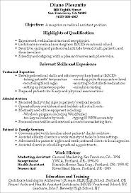 examples medical assistant resumes examples professional medical assistant  resumes cotepostdu resume cover letter assistant cover letter