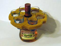 shot glass holder shot glass holder made of oak wood shot glass holder michaels