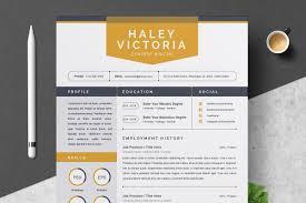 Creative Resume Template Resume Templates Creative Market