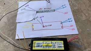Ballast Replacement Chart Old Ballast To New Ballast Wiring Wiring Schematic Diagram