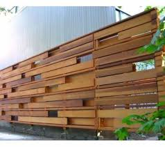 Modern House Horizontal Wood Fences Horizontal Wooden Fences