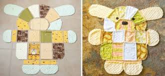 Dog Quilt Patterns Beauteous Gorgeous Puppy Dog Rag Quilt Pattern The WHOot
