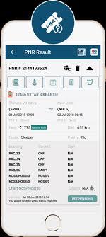 Live Train Chart Indian Railway App Live Train Running Status Pnr Rail