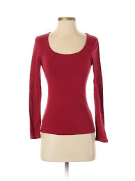 Details About Inc International Concepts Women Red Long Sleeve T Shirt Sm Petite