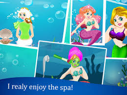 mermaid io mermaid dress up make up games free screenshot 6