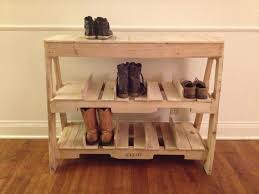 30 Pallet Shoe Rack Ideas To Suit Different Tastes Patterns Hub And Also  Gorgeous Pallet Shoe