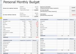 Budget Excel Sheet Template Monthly Budget Excel Spreadsheet Template New Personal