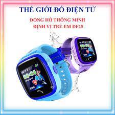 Đồng hồ định vị trẻ em DF25 - Hỗ trợ tiếng việt, kháng nước IP67, định vị  LPS, 4G/WIFI