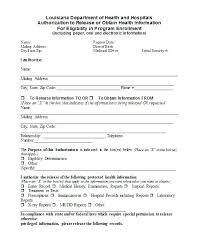 Medical Release Form Disclosure Template Consent For Grandparents ...