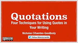Academic Quotes Using Quotations in Academic Writing YouTube 59