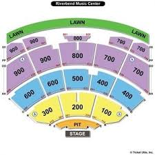 Riverbend Music Center Seating Chart Google Search Music