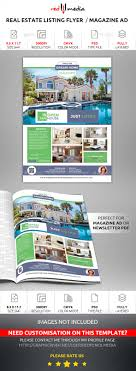real estate listing flyer magazine ad by redpencilmedia real estate listing flyer magazine ad flyers print templates