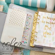 Diamond White Personal Kit Newest Arrivals Color Crush Planners