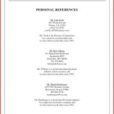 References Examples Awesome Job Example Personal Reference Of How To